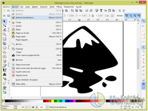 Inkscape screen