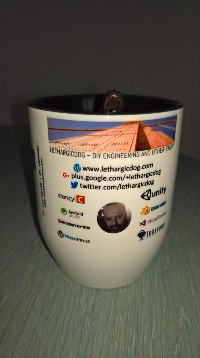 Mug – LethargicDog – Prototype #1