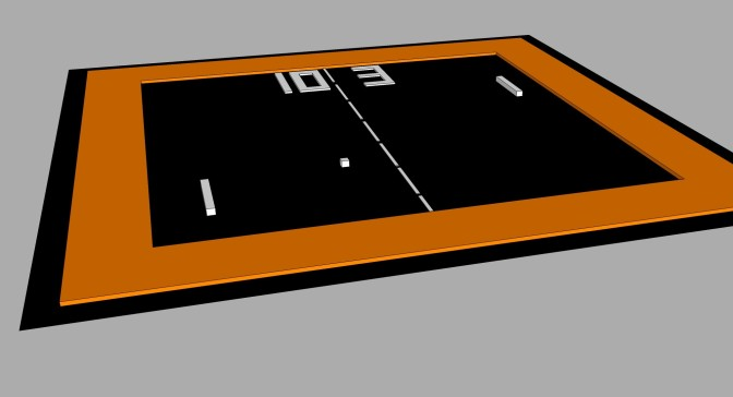 Pong with SketchUp Make 2016