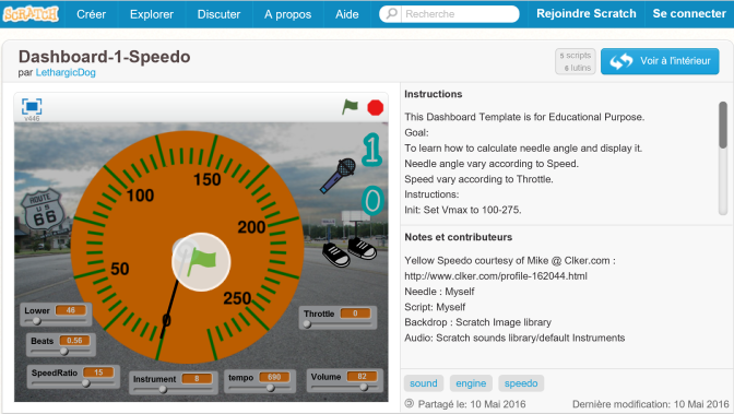 Scratch Project: Speedo